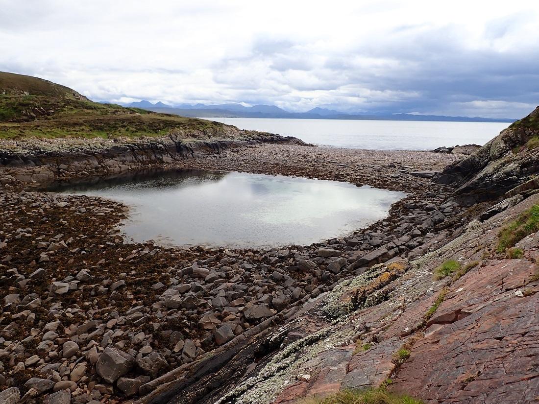 Carn Iar scottish island