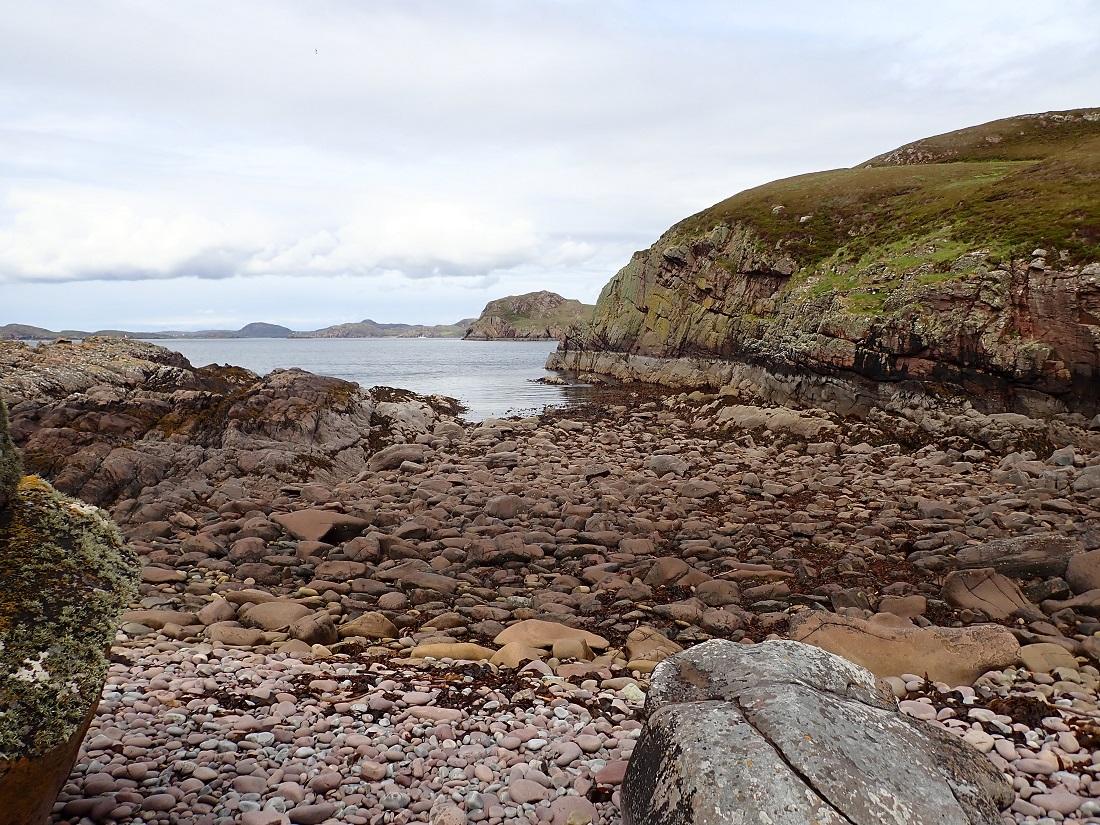 Carn Iar Summer isles Scottish island