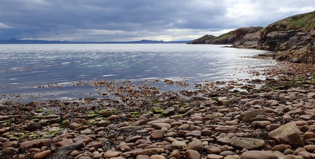 Scottish island Carn Iar