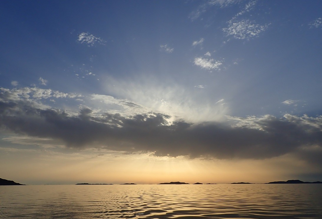 Carn Skerries Scottish island summer isles sunset