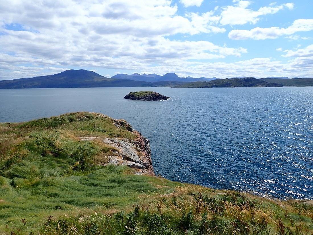 Meal nan Caorach skerry Loch Broom