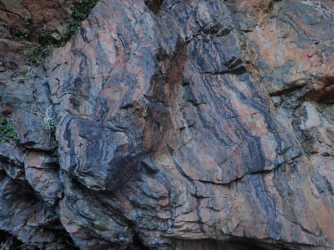 Geology rocks on island of rona