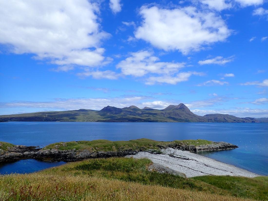 Carn Skerries Scottish island summer isles