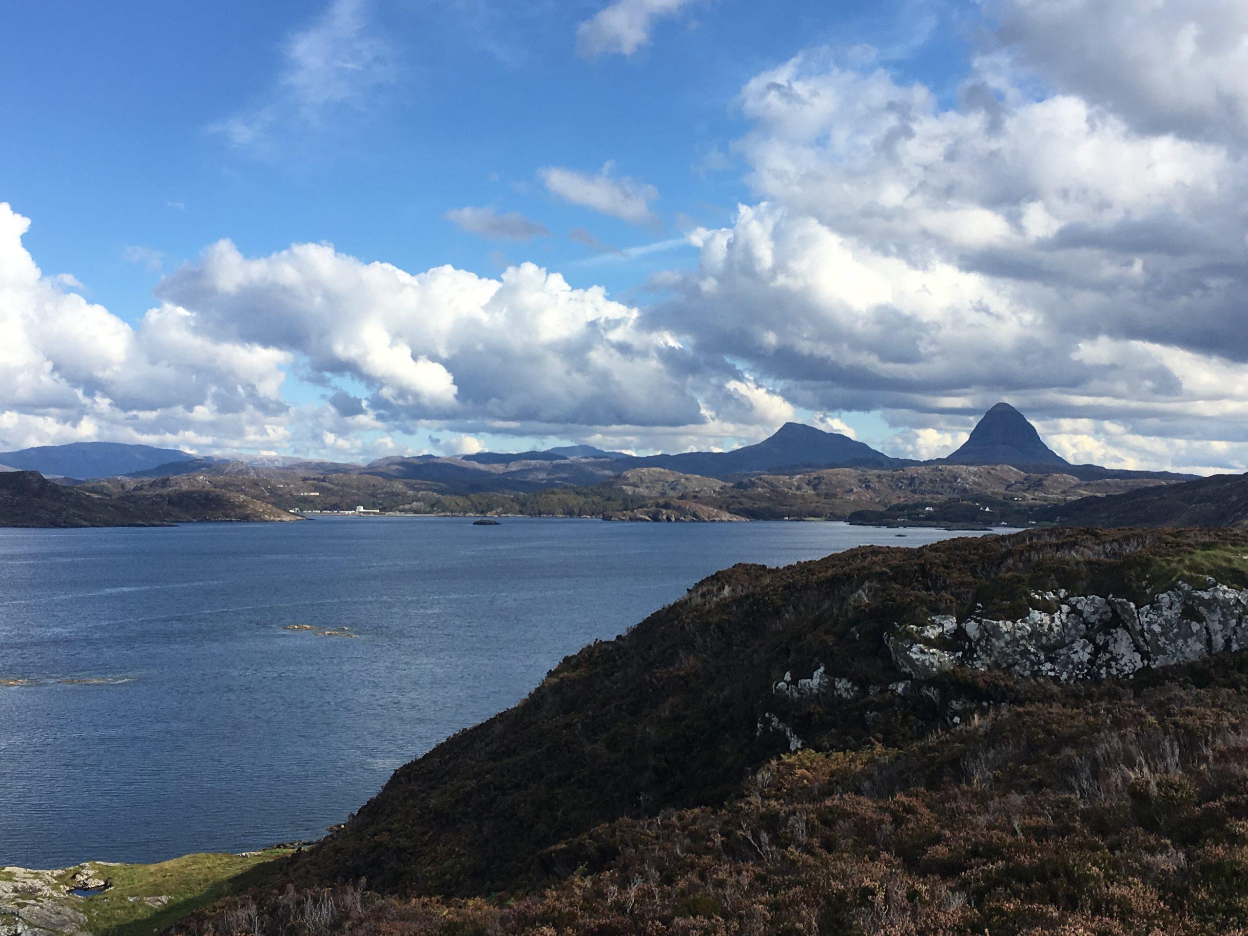 Sulliven above Lochinver Scotland
