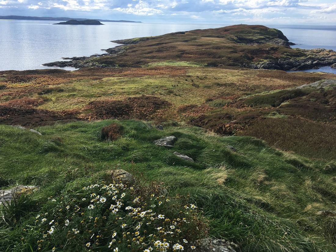 Scottish Island Soyea view from summit Scotislands