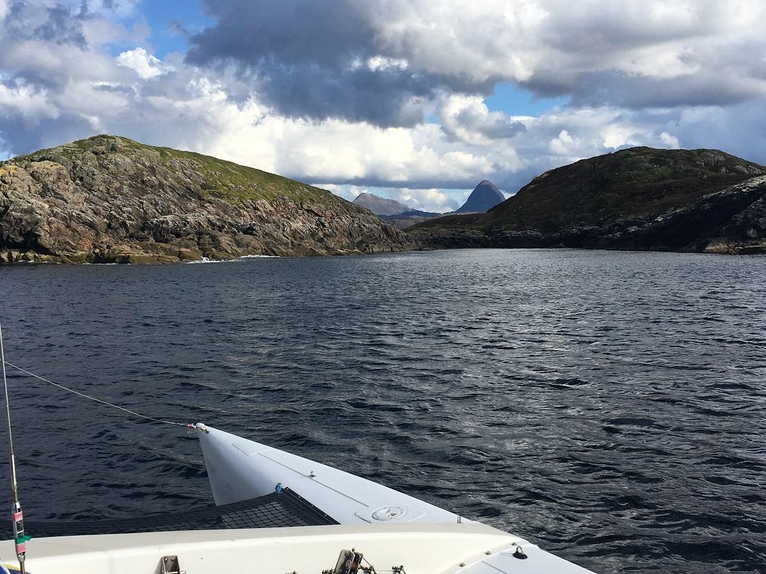 Scottish Island Soyea Lcch Inver Scotland